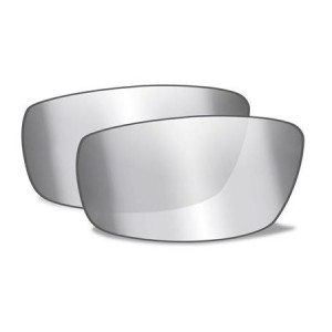 AIRRAGE POLARIZED SILVER FLASH LENSES 697P 7600