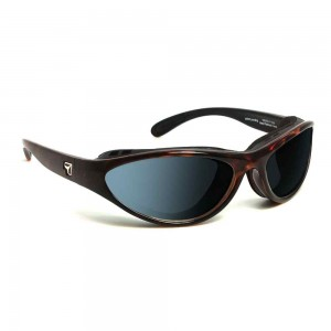 7eye Airshield Viento Dark Tortoise SV Polarized Gray