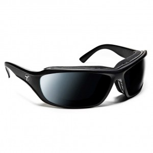 7eye Airshield Derby Matte Black Photochromic DarkShift