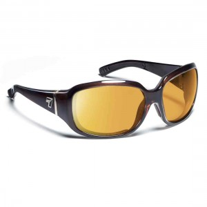 7eye Airdam WOMENS Mistral Crystal Chocolate SV Yellow
