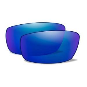 ZAK POL BLUE MIRROR LENSES ACZAKPB 7600